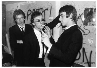 The Jam in Burton Suits