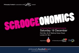 Scroogeonomics flyer