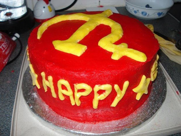 hammer and sickle cake