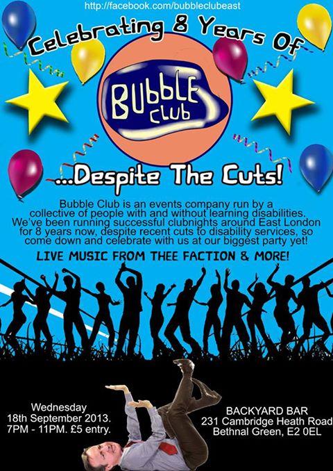 bubble-club-poster