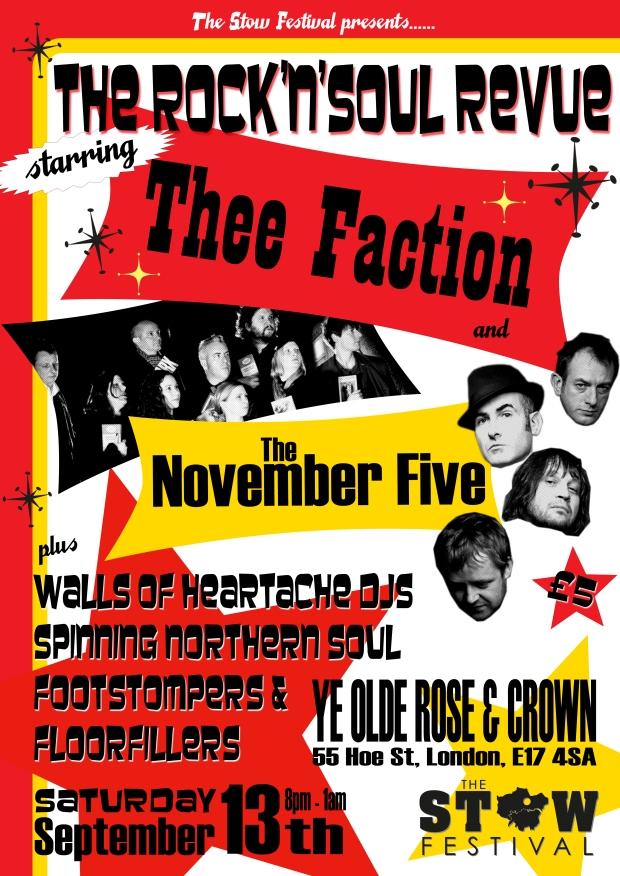 Nov 5 stow fest